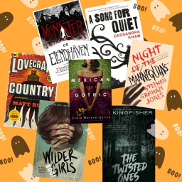 Spooky Reading List for this Halloween Month